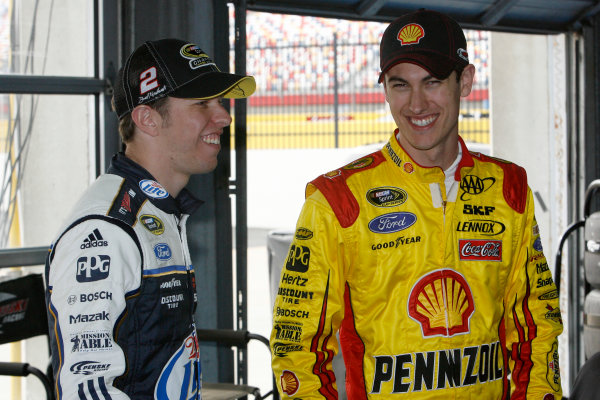 11-12 December 2012, Concord, North Carolina, USA Brad Keselowski Joey Logano.(c)2012, LAT South LAT Photo USA. .