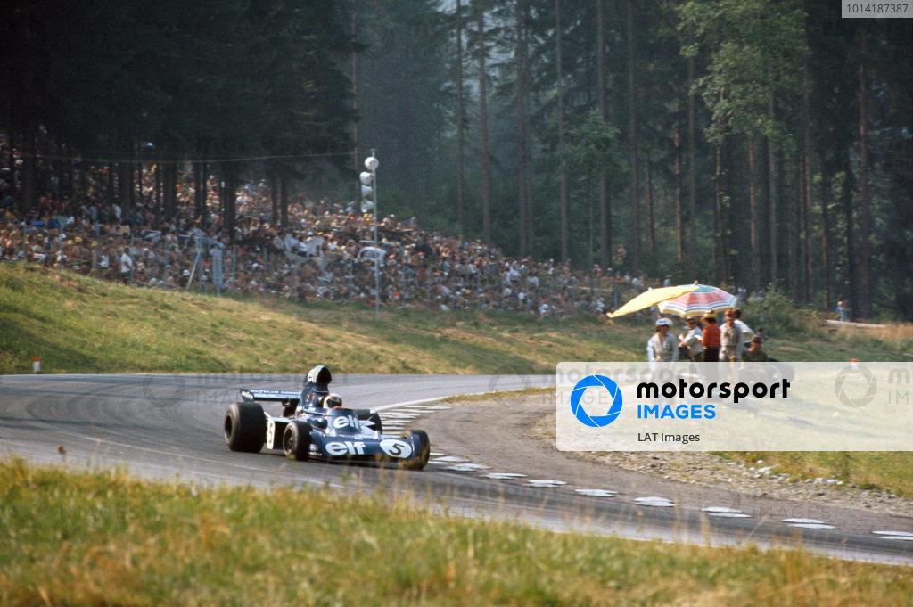 1973 Austrian Grand Prix.  Osterreichring, Austria. 17-19th August 1973.  Jackie Stewart, Tyrrell 006 Ford, 2nd position.  Ref: 73AUT13. World Copyright: LAT Photographic