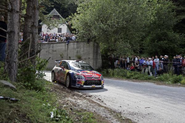Round 07Rally Bulgaria 8-11 July  2010Dani Sordo, Citroen WRC, ActionWorldwide Copyright: McKlein/LAT
