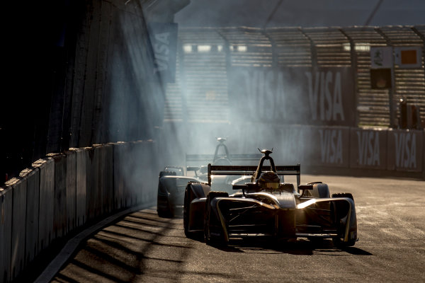2016/2017 FIA Formula E Championship. Marrakesh ePrix, Circuit International Automobile Moulay El Hassan, Marrakesh, Morocco. Saturday 12 November 2016. Ma Qing Hau (CHN), Techeetah, Spark-Renault, Renault Z.E 16. Photo: Zak Mauger/Jaguar Racing ref: Digital Image _X0W6138