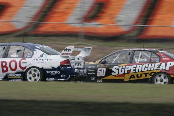 2007 Australian V8 Supercars - Hidden Valley.Hidden Valley Raceway, Darwin, Australia.22nd - 24th June 2007.Cameron McConville (Supercheap Auto Racing Holden Commodore VE). Action.World Copyright: Mark Horsburgh/LAT Photographicref: Digital Image McConville-RD06-07-7379