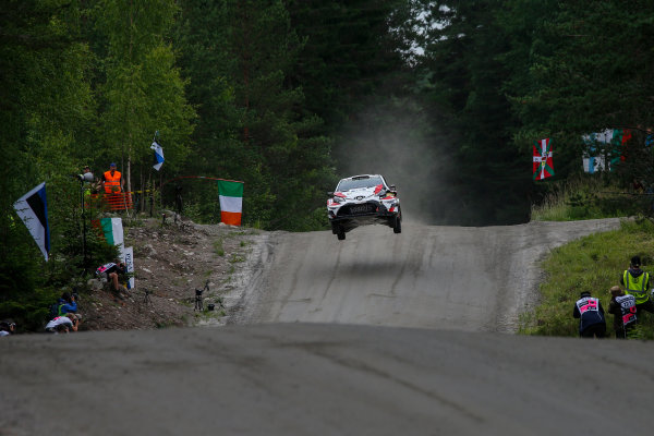 2017 FIA World Rally Championship, Round 09, Rally Finland / July 27 - 30, 2017, Juho Hanninen, Toyota WRC, Action  Worldwide Copyright: McKlein/LAT