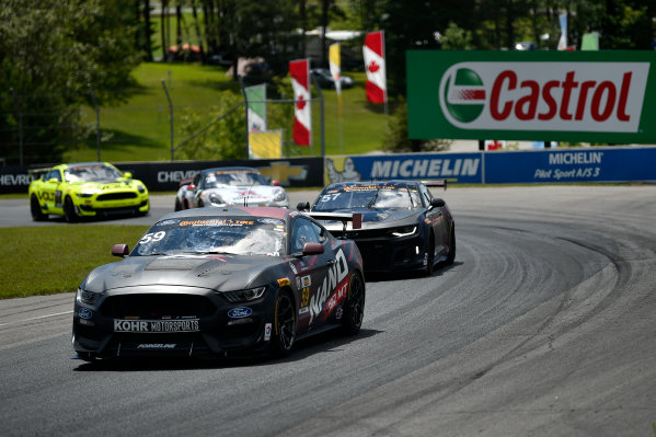 IMSA Continental Tire SportsCar Challenge Mobil 1 SportsCar Grand Prix Canadian Tire Motorsport Park Bowmanville, ON CAN Saturday 8 July 2017 59, Ford, Ford Mustang, GS, Scott Maxwell, Jack Roush Jr World Copyright: Scott R LePage/LAT Images
