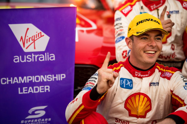 2017 Supercars Championship Round 8.  Ipswich SuperSprint, Queensland Raceway, Queensland, Australia. Friday 28th July to Sunday 30th July 2017. Scott McLaughlin, Team Penske Ford.  World Copyright: Daniel Kalisz/ LAT Images Ref: Digital Image 290717_VASCR8_DKIMG_9865.jpg