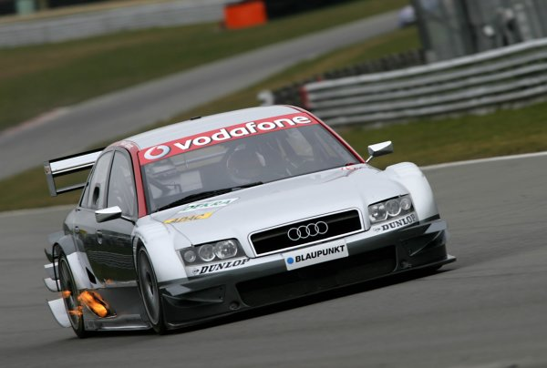 2006 DTM Testing Brands Hatch, England. 20th March 2006. Olivier Tielemans, Team Midland, Audi A4 DTM. Action. World Copyright: Gary Hawkins/LAT Photographic ref: Digital Image Only.