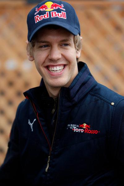 Fuji Speedway, Oyama, Japan12th October 2008Sebastian Vettel, Toro Rosso STR02B Ferrari. Portrait. World Copyright: Glenn Dunbar/LAT Photographicref: Digital Image _O9T7096