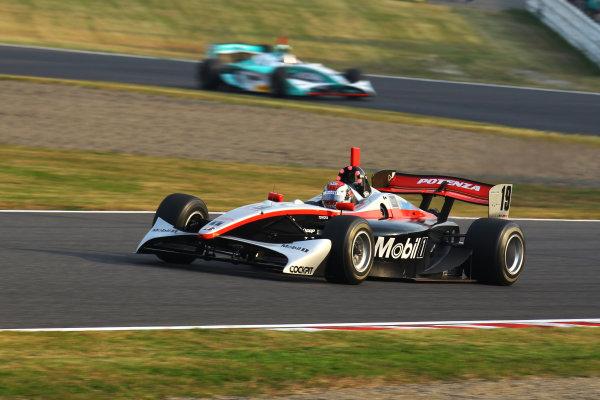 Rd 7 Suzuka, Japan. 6th - 7th November 2010.Race2, Winner Joao Paulo de Oliveira ( #19 Mobil1 TEAM IMPUL ) action.World Copyright: Yasushi Ishihara/LAT Photographic.Ref: 2010FN_R7_014.