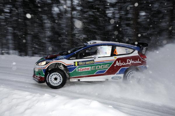 Round 01-Rally Sweden. 10th-13th February 2011.Jari-Matti Latvala, Ford WRC, ActionWorldwide Copyright: McKlein/LAT