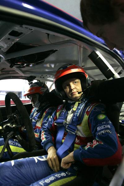 Round 11Rally de France 30/9-3/10Mikko Hirvonen, Ford WRC, Portrait.Worldwide Copyright: McKlein/LAT