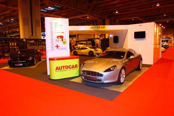 NEC, Birmingham. 13th January 2011.The Autocar stand.World Copyright: Malcolm Griffiths/LAT Photographicref: Digital Image IMG_6274