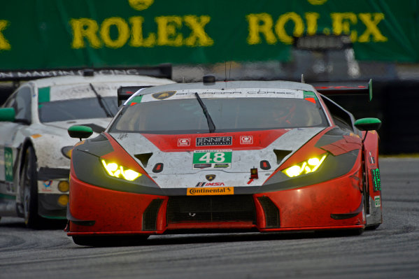 28-31 January, 2016, Daytona Beach, Florida USA 48, Lamborghini, Huracan GT3, GTD, Mirko Bortolotti, Bryce Miller, Bryan Sellers, Madison Snow ?2016, F. Peirce Williams LAT Photo USA