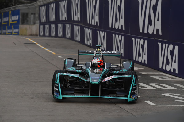 2017/2018 FIA Formula E Championship. Round 1 - Hong Kong, China. Saturday 02 December 2018. Mitch Evans (NZL), Panasonic Jaguar Racing, Jaguar I-Type II. Photo: Mark Sutton/LAT/Formula E ref: Digital Image DSC_8348