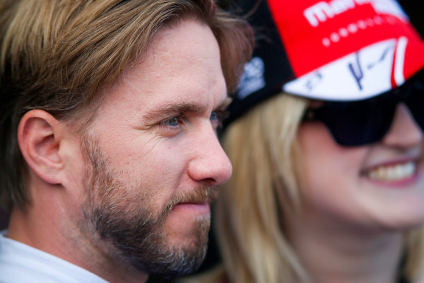 FIA Formula E Championship 2015/16. Pre-season Testing Session Two. Nick Heidfeld (GER), Mahindra Racing M2ELECTRO  Donington Park Racecourse, Derby, England. Tuesday 11 August 2015 Photo: Adam Warner / LAT / FE ref: Digital Image _L5R9284