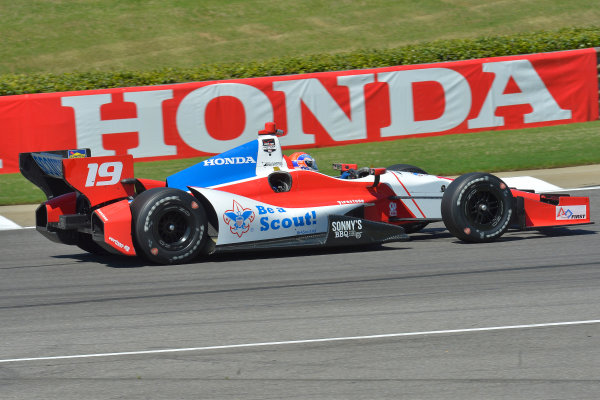 25-27 April, 2014, Birmingham, Alabama USA #19 Justin Wilson, Dale Coyne Racing © 2014, Dan R. Boyd LAT Photo USA