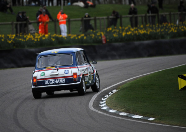 2017 75th Members Meeting Goodwood Estate, West Sussex,England 18th - 19th March 2017 Gerry Marshall Trophy Swift Mini Jordan World Copyright : Jeff Bloxham/LAT Images Ref : Digital Image