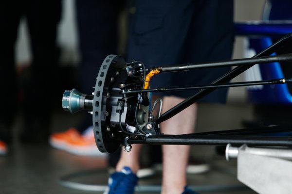 FIA Formula E Test Day, Donington Park, UK.  3rd - 4th July 2014.  Photo: Zak Mauger/FIA Formula E ref: Digital Image _L0U4380