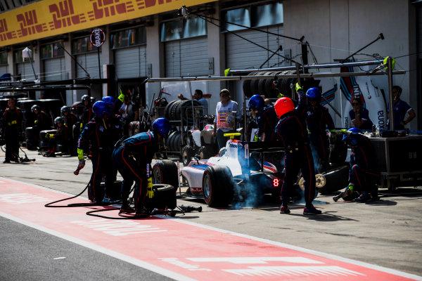 2017 FIA Formula 2 Round 5. Red Bull Ring, Spielberg, Austria. Saturday 8 July 2017. Raffaele Marciello (ITA, Trident).  Photo: Zak Mauger/FIA Formula 2. ref: Digital Image _56I2951