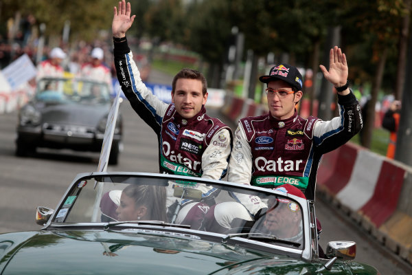 2013 FIA World Rally Championship Round 11-Rally de France 03-06/9 2013. Thierry Neuville, Nicolas Gilsoul, Ford, portrait  Worldwide Copyright: McKlein/LAT