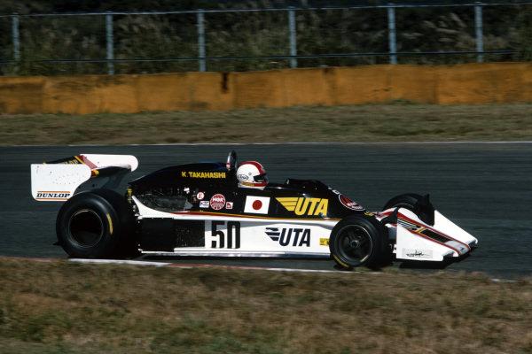 Kunimitsu Takahashi, Tyrrell 007 Ford.