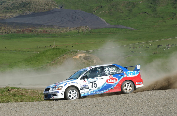 2002 World Rally Championship.Propecia Rally of New Zealand, Auckland, October 3rd-6th.Kristian Solberg, winner of Group NPhoto: Ralph Hardwick/LAT