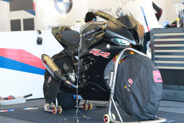 Bike of Markus Reiterberger, BMW Motorrad WorldSBK Team.