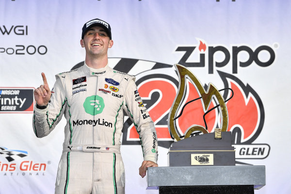 #22: Austin Cindric, Team Penske, Ford Mustang MoneyLion wins