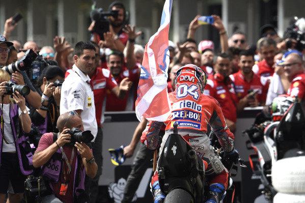 Race winner Andrea Dovizioso, Ducati Team.