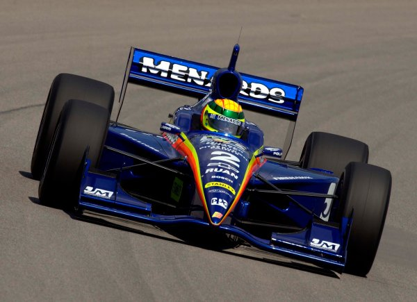 IRL Radisson Indy 225, Pikes Peak International Raceway, Fountain,Colorado, USA 16 June,2002 Mark Dismore takes over the Menard ride.