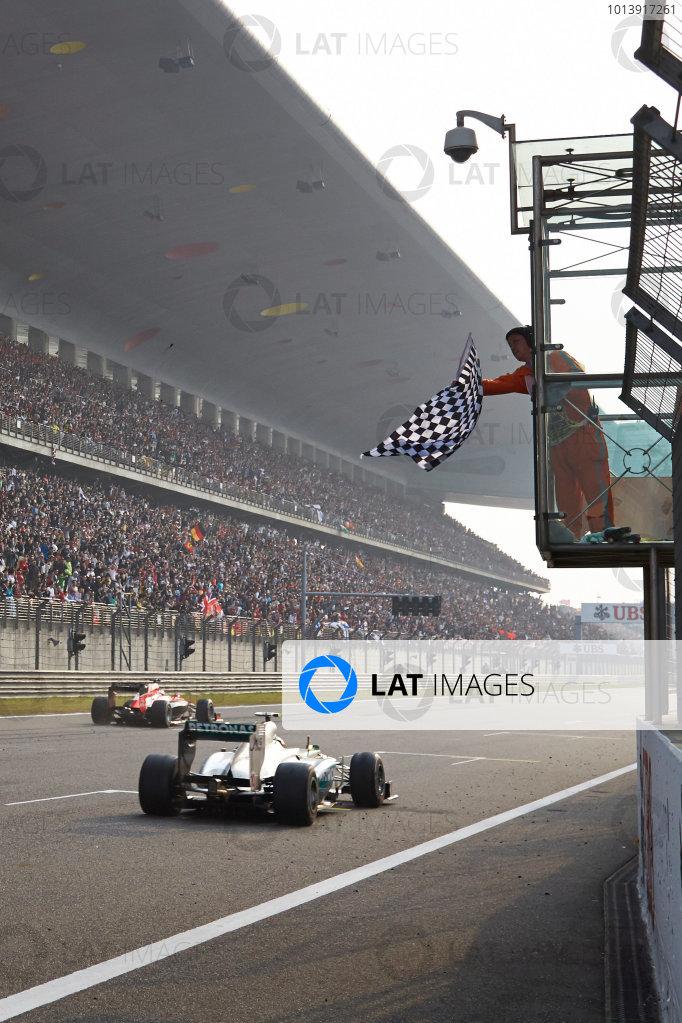 Shanghai International Circuit, Shanghai, China Sunday 13th April 2013 World Copyright: Steve Etherington/LAT Photographic ref: Digital Image SNE23699 copy