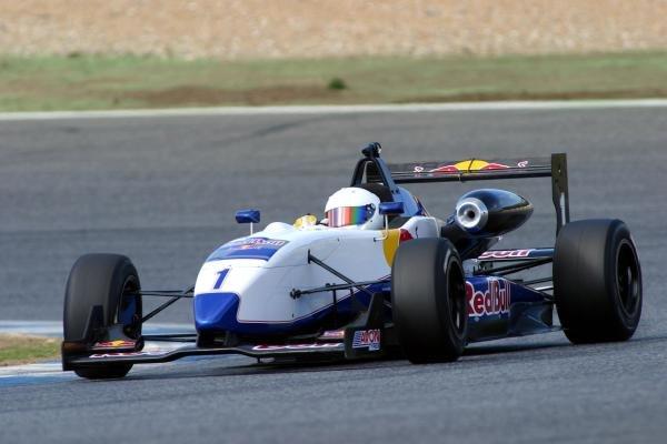 Jonathan Summerton (USA). Red Bull US Driver Search, Estoril, Portugal, 12-13 October 2004. DIGITAL IMAGE