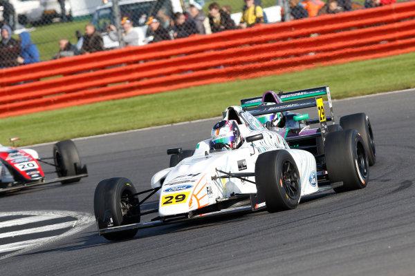 2017 MSA British F4 Championship, Silverstone, Northants, UK. 16th-17th September 2017 Luca Allen (IRL) Falcon Motorsport British F4  World copyright. JEP/LAT Images
