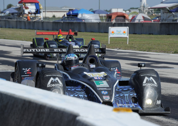 14-19 March 2011. Sebring, Florida USA#052 PR1 Mathiasen Motorsports Oreca FLM09©2011 Dan R. Boyd LAT Photo USA