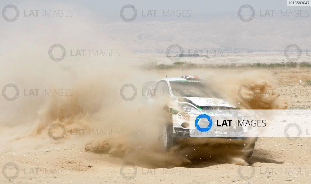 Round 04 Rally Jordan. 14th-16th April 2011.Matthew Wilson, Ford WRC, Action.Worldwide Copyright: McKlein/LAT