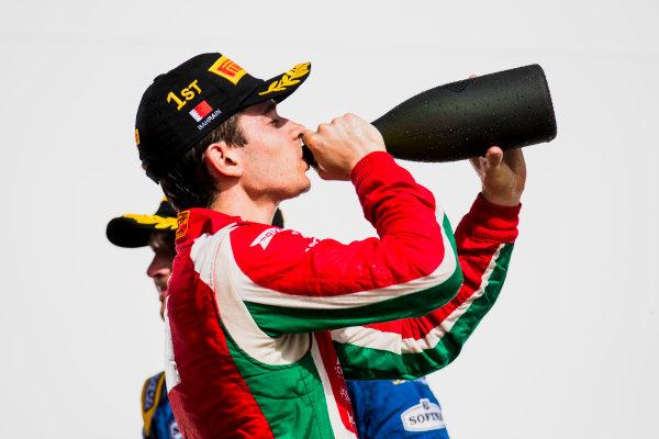 2017 FIA Formula 2 Round 1. Bahrain International Circuit, Sakhir, Bahrain.  Sunday 16 April 2017.Charles Leclerc (MCO, PREMA Racing)  Photo: Zak Mauger/FIA Formula 2. ref: Digital Image _56I2177