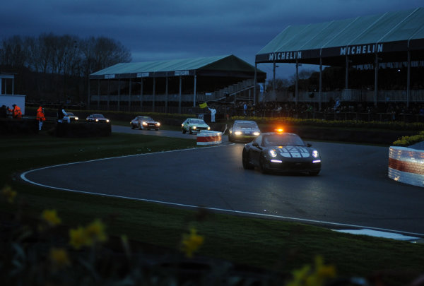 2017 75th Members Meeting Goodwood Estate, West Sussex,England 18th - 19th March 2017 Gerry Marshall Trophy Safety Car World Copyright : Jeff Bloxham/LAT Images Ref : Digital Image