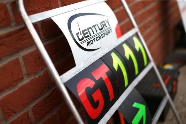 2017 British GT Championship, Oulton Park, Cheshire. 15th - 17th April 2017. Century Motorsport. World Copyright: JEP/ LAT Images.