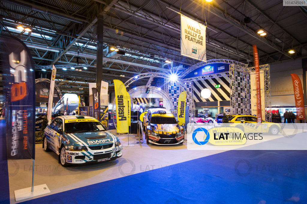 Autosport International Exhibition. National Exhibition Centre, Birmingham, UK. Friday 13 January 2017. Wales Rally GB Feature Photo: Sam Bloxham/LAT Photographic ref: Digital Image _SLB4768