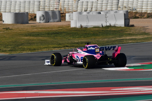 Lance Stroll, SportPesa Racing Point F1 Team RP19 spins