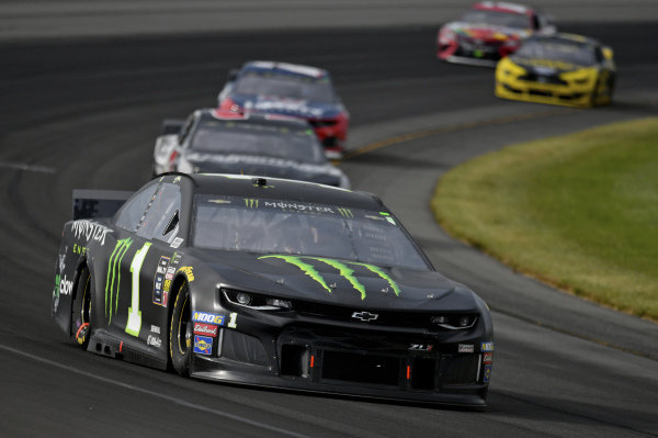#1: Kurt Busch, Chip Ganassi Racing, Chevrolet Camaro Monster Energy