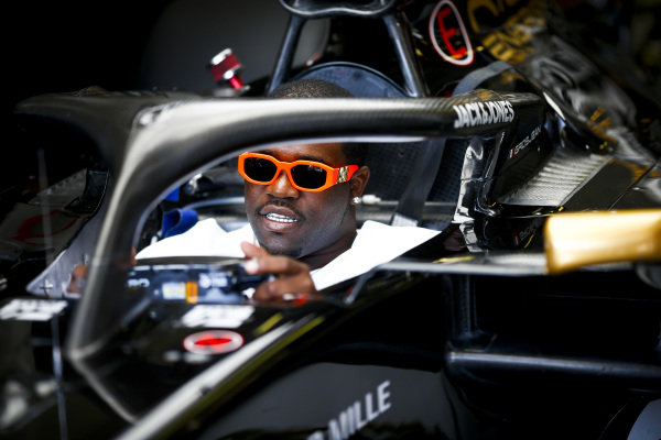 ASAP Ferg, American rapper in the Haas VF-19