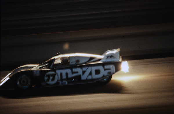 Walt Bohren / Pierre Honegger / David Palmer, Z & W Enterprises, Mazda GTP.