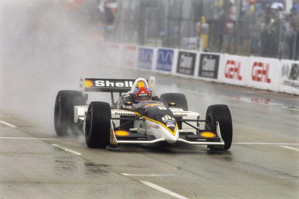 Bryan Herta, Team Rahal, Reynard 98i Ford.