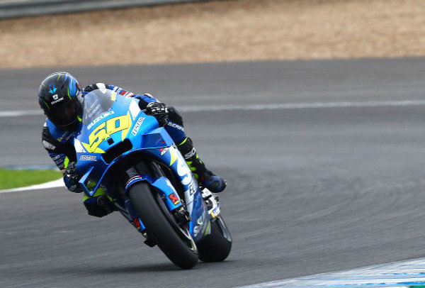 Sylvain Guintoli, Team Suzuki MotoGP.
