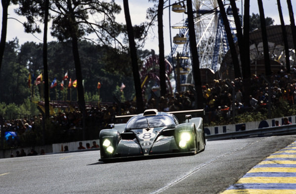 Andy Wallace / Eric van de Poele / Butch Leitzinger, Team Bentley, Bentley EXP Speed 8.