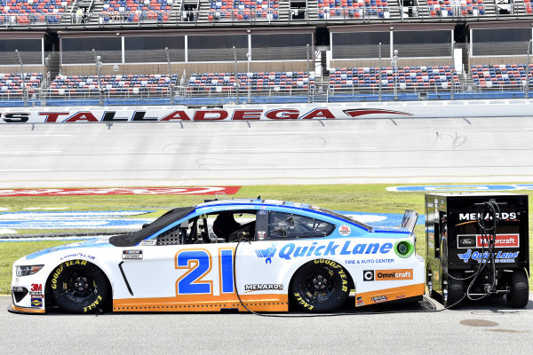 #21: Matt DiBenedetto, Wood Brothers Racing, Ford Mustang Quick Lane Tire & Auto Center