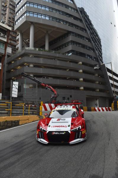 Edoardo Mortara (ITA) Audi Sport Team Phoenix, Audi R8 LMS at SJM Macau GT Cup - FIA GT World Cup, Macau, China, 19-22 November 2015.