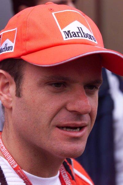 2000 San Marino Grand Prix.Imola, Italy. 7-9 April 2000.Rubens Barrichello (Ferrari) 4th position.World Copyright - LAT Photographic