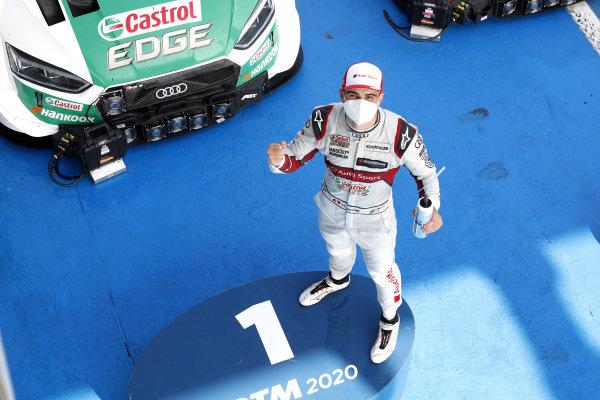Race winner Nico Müller, Audi Sport Team Abt Sportsline.