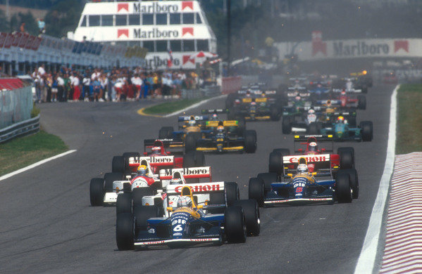 1991 Portuguese Grand Prix.