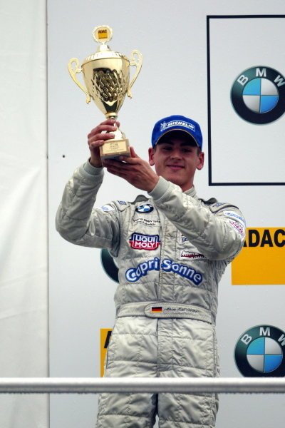 Second place driver Adrian Sutil (GER), HBR Motorsport GmbH.Formula BMW ADAC Championship, Rd 19, Hockenheim, Germany. 4 October 2003. DIGITAL IMAGE